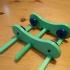 Adjustable Width Tabletop Filament Spool Holder image