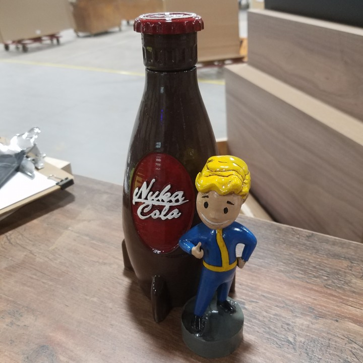 Usable Nuka Cola Bottle 16.9oz
