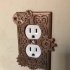 Steampunk outlet cover image