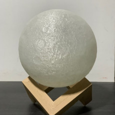 Picture of print of Moon Lamp Stand