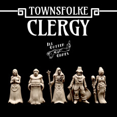 Townsfolke: Clergy