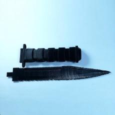 Picture of print of Survival Knife _ Couteau de survie