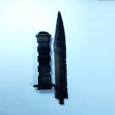Picture of print of Survival Knife _ Couteau de survie