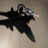 F 18 Super Hornet Key Chain Large Charm image