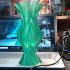 leaf vase print image