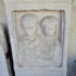 Funerary stele of Virdomarus and his sister image