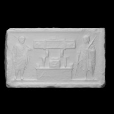 Block from a funerary monument