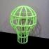 Lightbulb Mesh Lampshade image