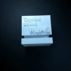 Picture of print of MArker RUAG STAND