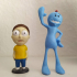 Rick and Morty: New born Mr.Meeseeks print image