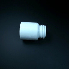 Picture of print of 80ml Pill Bottle