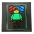 Wall Art LEGO Style female (multicolor with single extruder) image