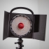 Frame to Rotolight Neo2 with handle and to barndoors. image