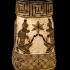 Egyptian Pyramid Flower Vase image