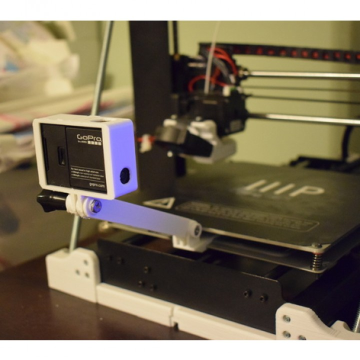 Wanhao i3 Y-bed GoPro Mount