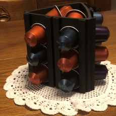 Nespresso capsule organizer