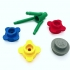 Big flower heads LEGO Style - fully playable (with bouquet stem) image