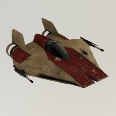 A-wing from Star Wars