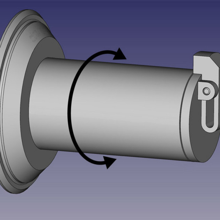 Zortrax M300 rotatable spool holder