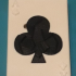 Poker Ace of clubs card Puzzle image
