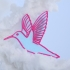 Hummingbird brooch image