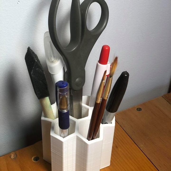 Honeycomb Desk Organizer / Pen Holder