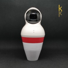 Bowling Pin Yi - Camera support with hiding place