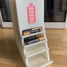 Picture of print of Battery Organizer
