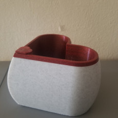 Picture of print of Heart Shaped Self Watering Planter