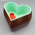 Heart Shaped Self Watering Planter print image