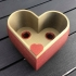 Heart Shaped Self Watering Planter image
