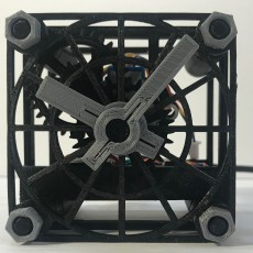 Simple Arduino 3D printed clock