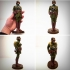 GERMAN SOLDIER WW1, VINTAGE TOY. image