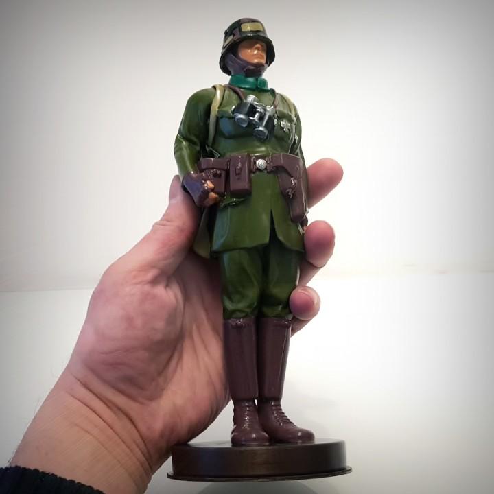 GERMAN SOLDIER WW1, VINTAGE TOY.
