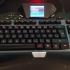 Logitech G19 Tastatur Fuss Links image