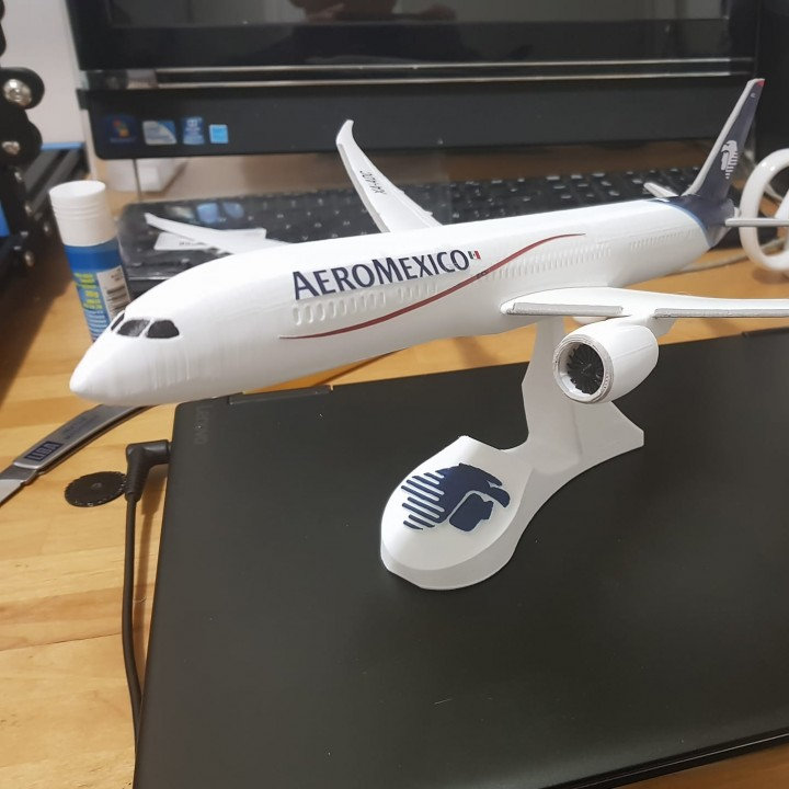 787-9 SNAP-FIT AIRPLANE MODEL