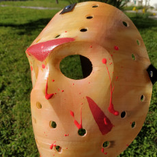 Picture of print of Jason X Hockey Mask