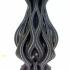 Flame Vase print image