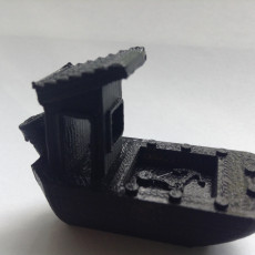 Picture of print of The Freighter Benchy
