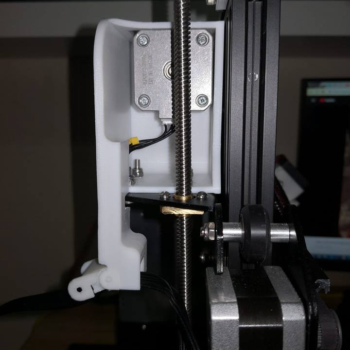 Stewpercharged Ender 3 Extruder Mover
