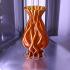 flame vase 2 print image