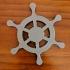 Simple Ship Wheel Token image
