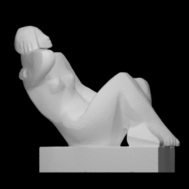 The Sitting Woman