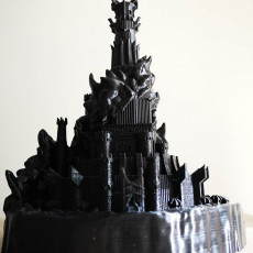 Picture of print of Barad-Dûr, The Dark Tower