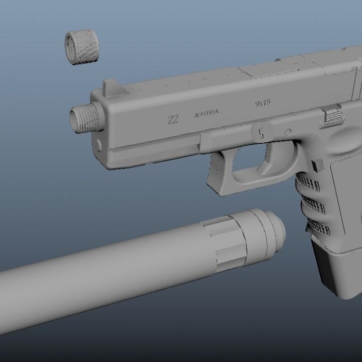 Tacticool Glock 22 Replica