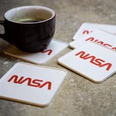 NASA coasters for dual extrusion, multi material or single nozzle printers