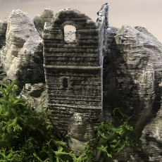 Picture of print of Roche Rock, Cornwall