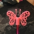butterfly pencil topper image