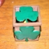 Shamrock electric candle box image