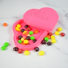 Patterned Heart Shape Box